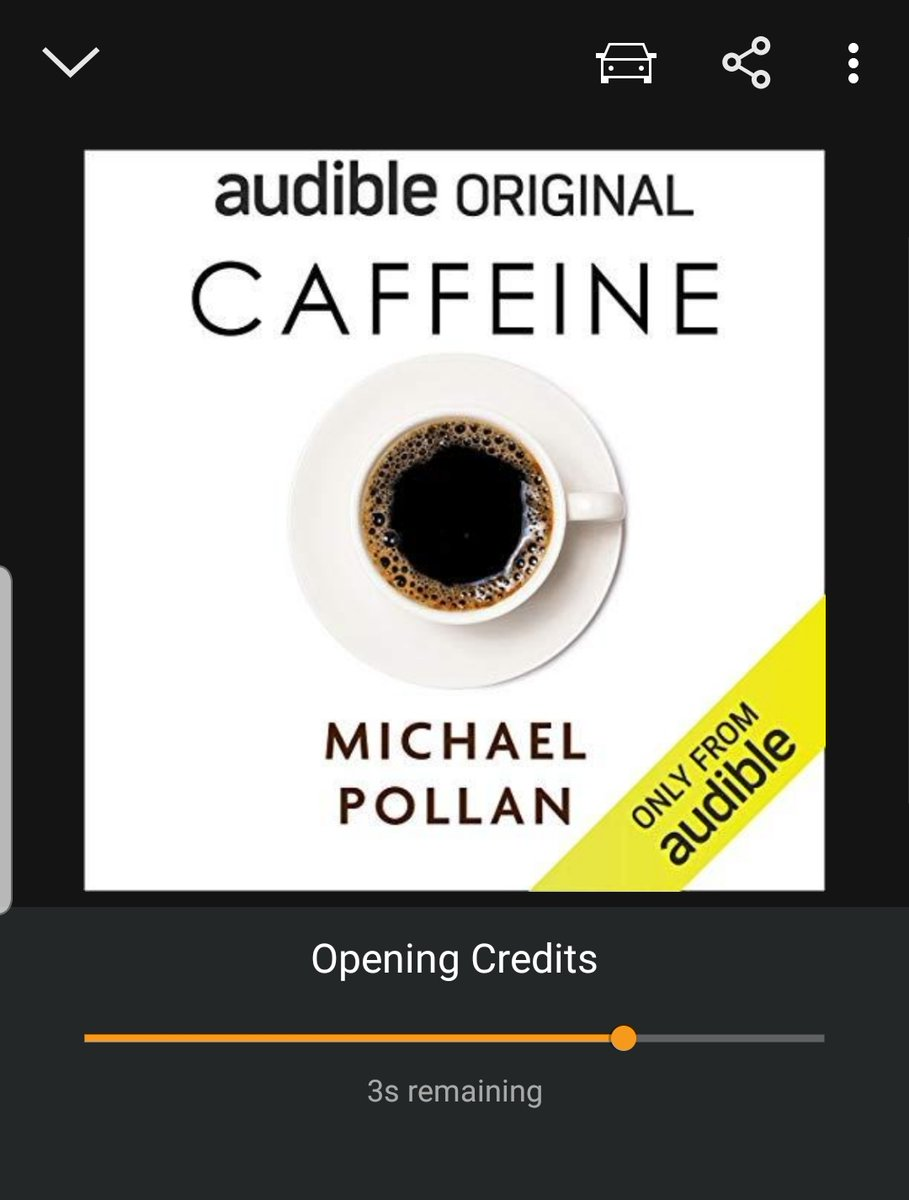 Newest addition to audiobook collection thanks to @AusRob_PhD! ☕🤓