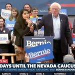 Image for the Tweet beginning: WATCH: Bernie Sanders interrupted by