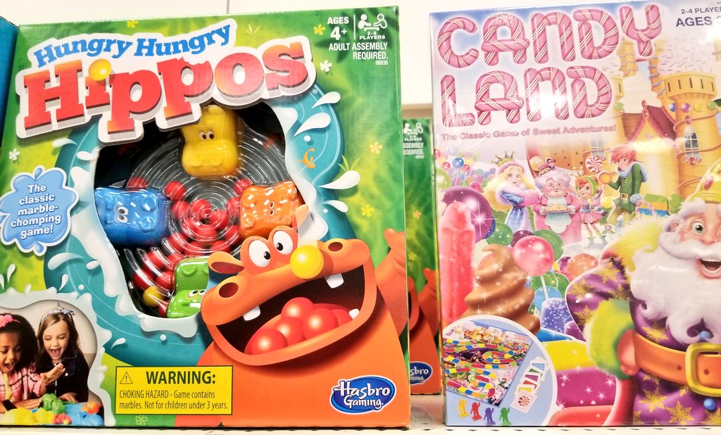 Son: Come over and play board games with us.  Me: I don't feel like playing board games.  Son: Don't worry Mom,  we have some simple games for you.  Hubby: Candyland or Chutes and Ladders? Me: Grrrr #boardgames #gamenight pic.twitter.com/UmUGFAtqDo