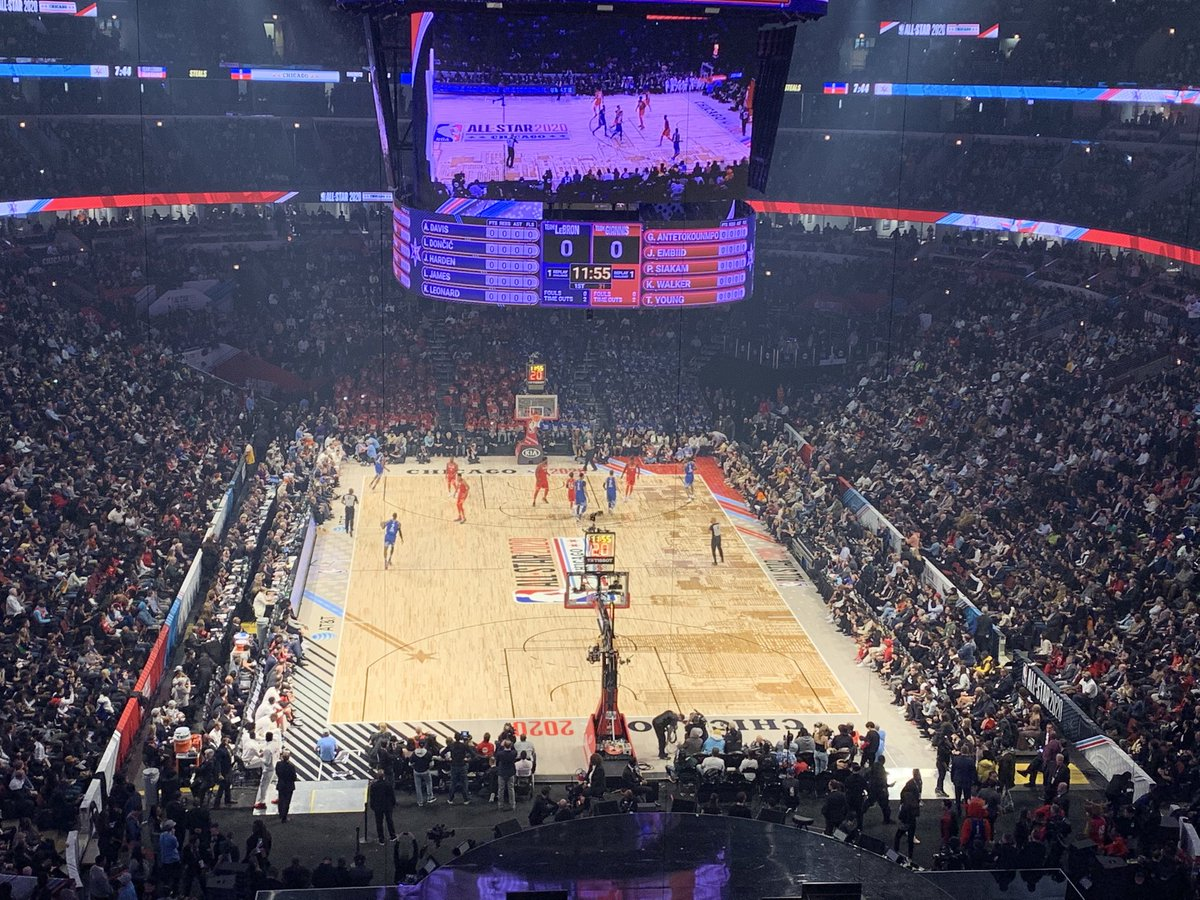 Hard to imagine LeBron James doesn't go off here in Jordan's house and to honor Kobe by winning the first Kobe Bryant ASG MVP award #NBAAllStar2020