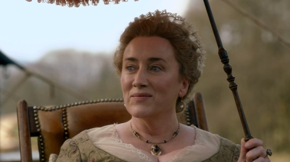 Jocasta, you little sneak! 😂 @mariadkennedy, you absolutely slayed in this episode. So happy to see you back in this season!!   #Outlander #TheFieryCross