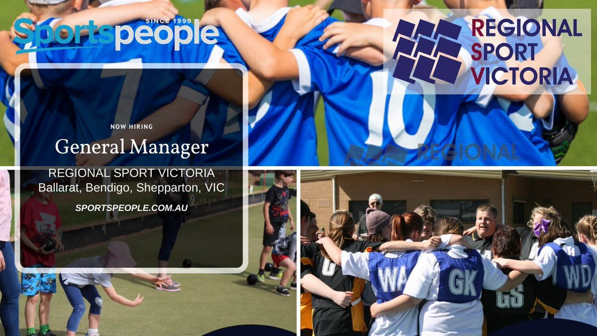 [FEATURED] General Manager - @RegionalSprtVic. Full Time. Ballarat, Bendigo, Shepparton location. Closing 9 Mar 2020. Apply@ http://bit.ly/2SNnQAm  (see more peak body jobs: http://bit.ly/37s4ExA ) #sportspeople #sportjobspic.twitter.com/ZFSpnPXAQZ