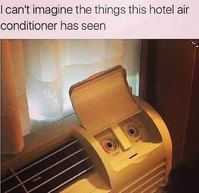 #ihatetheinternet #WhoDidThis  #PTCares #vlogger #vlog #blogger #blog #humor #funny #lol #lmao #lmbo #IHTI #airconditioner #hotel #personification #disbeliefpic.twitter.com/Yd3nnGdOm3