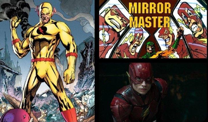 O insider @DanielRPK deu a entender que o Mestre dos Espelhos e Flash Reverso, podem ser os vilões do filme solo do Flash   #Flashpointpic.twitter.com/tKADENDRkx