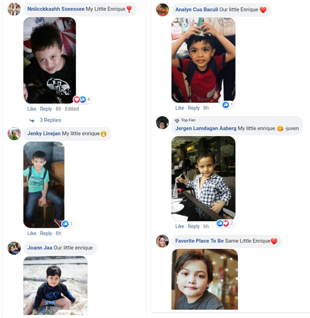 Mommies flexing their babies in reaction to Quen's baby pics  Lots of little enriques  cto FB pic.twitter.com/a4Tj1oWvgq