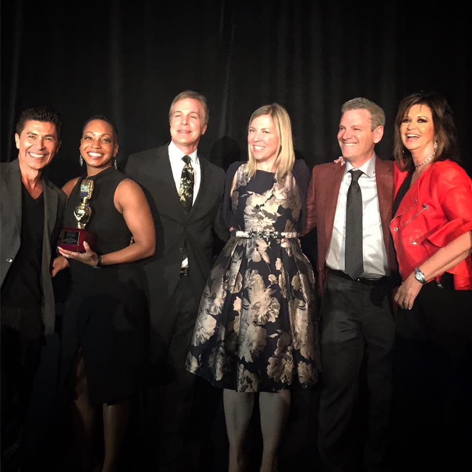 #GoldenMike:  Congrats to our entire @NBCLA  family!  TWO #GoldenMikeAwards for Best Newscast (11pm and 5pm) and another for our 19 hours of continuous coverage of the #Borderline shooting. And on a night when Fred Roggin received a Lifetime Achievement Award from the @RTNASoCal