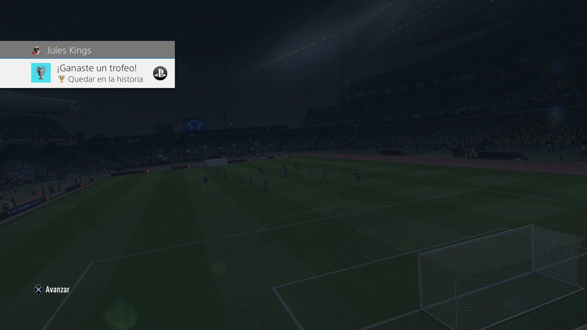 FIFA 20 Quedar en la historia (Oro) Gana la final de la UEFA Champions League #PS4share https://store.playstation.com/#!/tid=CUSA15559_00…pic.twitter.com/xa9NDGJMIV