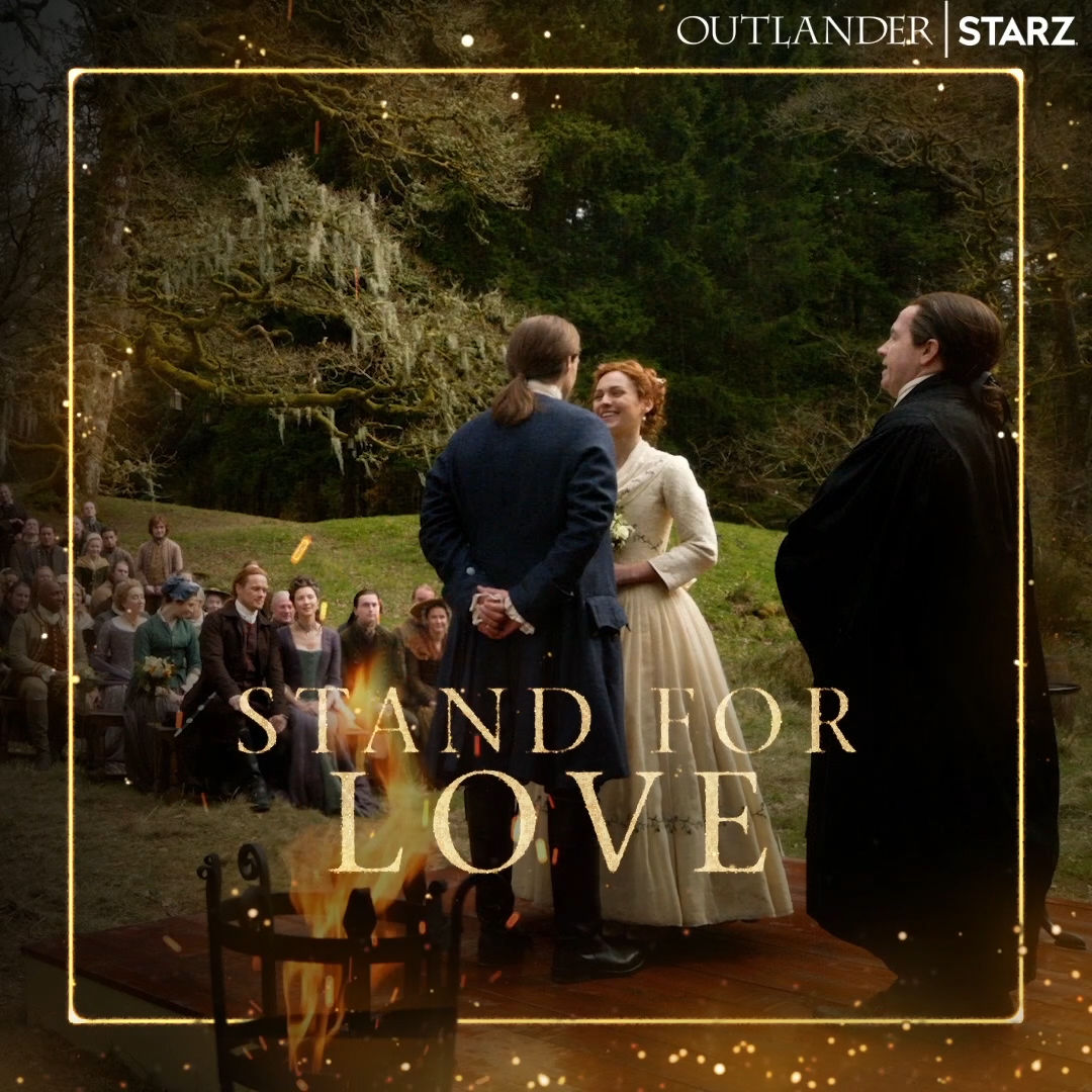 In summation: ❤️❤️❤️  Catch up on the #Outlander Season 5 premiere now on the @STARZ App.