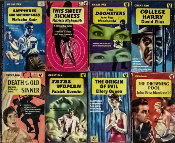 One person's trashy novel is another's treasure💎  @carolyn_mak showcases pulp fiction books from the  @Sydney_Library archives: https://bit.ly/320RTZw