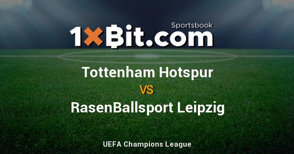 UEFA Champions League : #TottenhamHotspur 0 [2.42] vs [3.5] #RasenBallsportLeipzig 0 [2.9] #1xbit #bitcoin http://bit.ly/2O6bC6vpic.twitter.com/0kQf4StxQ2