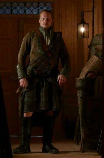 @Outlander_STARZ @ClanHeughan #ItStillFits #JamieFraser #KiltinIt #CallingOfTheClans #Outlander 501 #TheFieryCross #FrasersRidge @SamHeughan