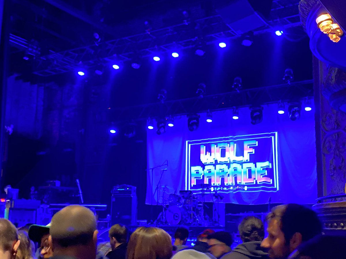 All fired up for @WolfParade at @ThaliaHall in #Chicago