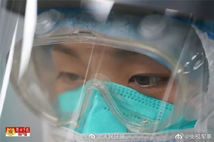 The most beautiful eyes 👀 amid #CoronavirusOutbreakChinese people on social media hail efforts by medics on the frontline of the fight against #COVID19