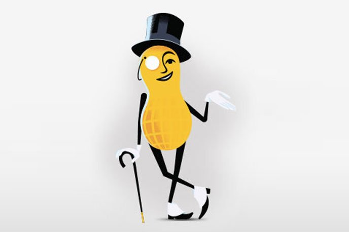 BREAKING NEWS. Mr. Peanut has come out as Straight