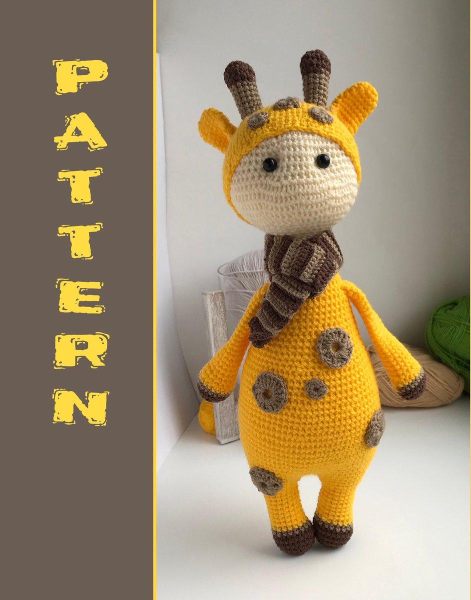 Stitch Along: Crochet Giraffe Amigurumi - YouTube | 1200x943