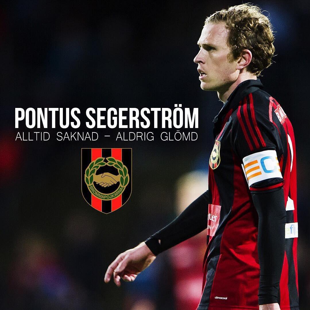 Alltid saknad, aldrig glömd. Idag skulle Pontus Segerström fyllt 39 år.