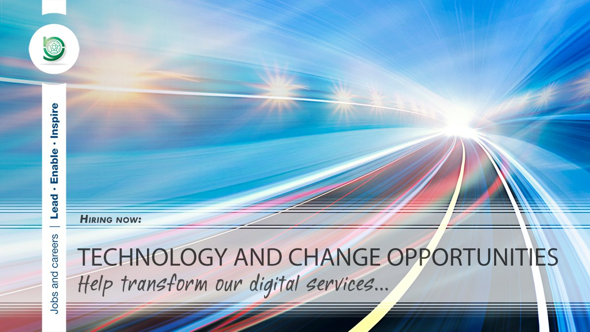 Closing today!   We have #vacancies available in our #Technology and Change service, ranging from entry level to senior positions.  Apply today and be part of the team taking us into the future: https://www.northyorks.gov.uk/technology-and-change-opportunities …  #Jobs #TechJobs #ITJobs #TechnologyJobs #IT #JobSeeker #ICTpic.twitter.com/bUpwVU41l3