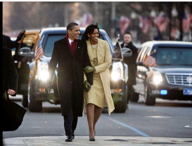 @SteveScalise @realDonaldTrump #Obama v #tRump I'll just let this picture speak for itself #TrumpDerangementSyndrome #TrumpIsAnIdiot #Resist