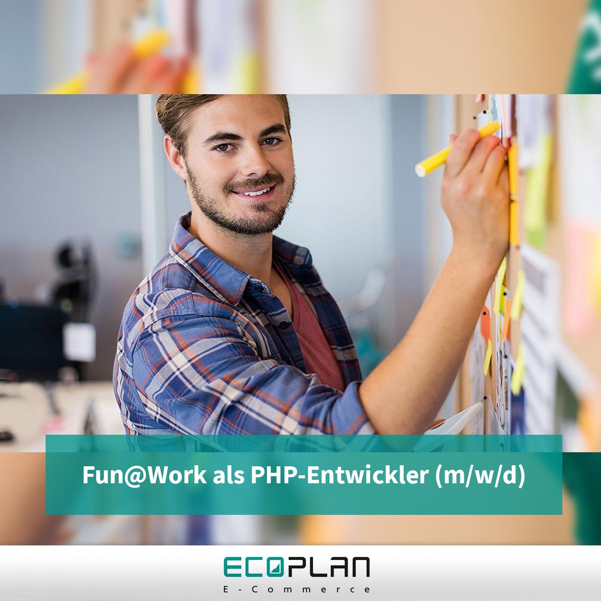 Morgens mit einem Lächeln kommen & abends zufrieden nach Hause gehen. So lässt es sich einfach kreativer & erfolgreicher arbeiten ohne in Stress zu kommen. Hört sich das nicht gut an? Hab mit uns zusammen Fun@Work & bewirb dich als #PHP-Entwickler (m/w/d): http://bit.ly/2u8BuG8pic.twitter.com/x6evXbt1pB