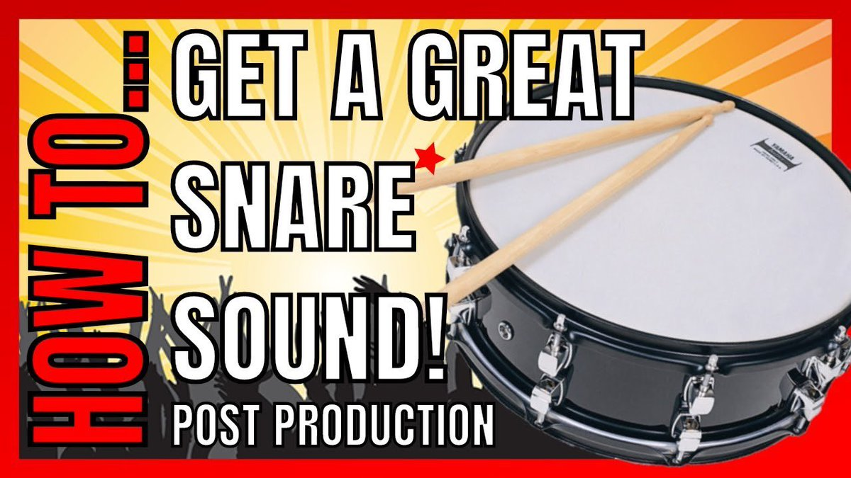 Are you making some #MondayVibes? Check out this tutorial to help you get a great 'cracking' snare sound inside your #mix https://youtu.be/gLy56SuiS9E . . #postproduction #tutorial #lesson #learn #music #audiophile #homestudio #mixing @BandLab @CakewalkInc