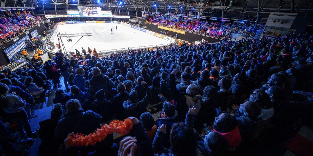 Ondanks haar 800 jaar viert Dordrecht het Shorttrack feest mee. Top prestaties, geweldig publiek, super show en de vele vrijwilligers maken dit weekeinde weer onvergetelijk. Thanks @TIG_Sports @KNSB @KPN @DaikinNL en vele andere sponsors/suppliers https://t.co/IaUVfaDbiH
