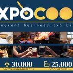 Image for the Tweet beginning: Expocook, il grande evento annuale