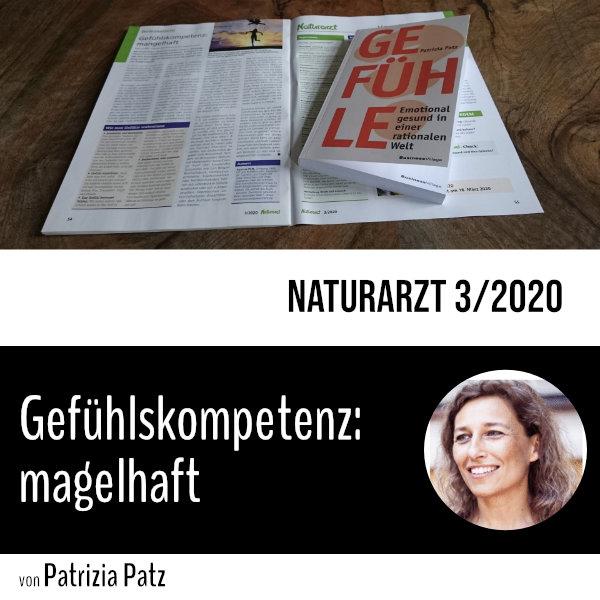 Gefühlskompetenz: mangelhaft Ein Artikel von unserer Autorin Patrizia Patz in Naturarzt 3/2020 @berufung_leben  @NaturarztAccess  #gefühle #verletztegefühle #emotionen #wut #depression #psychologie #traurig #autorin #sachbuch #ratgeber #heilpraktiker #heilpraktikerpsychotherapie pic.twitter.com/l671DoT0HN