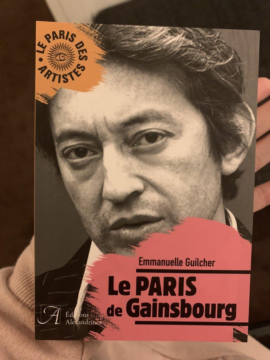 Le Paris de Gainsbourg, un incontournable pour les amoureux de Paris et/ou de l'inégalable Lucien Ginsburg.  Un petit ouvrage rempli d'anecdotes à découvrir dès le 6 mars 2020 @Signoret66 @cgainsbourg @sgainsbourg_ @lulugainsbourg @Salondulivre @LeClubduFigaro @AmazonNewsFRpic.twitter.com/zNBHmkp0EA