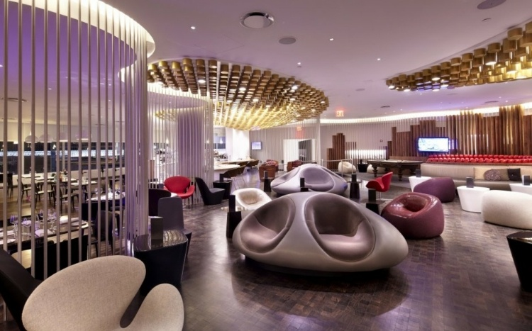#RT @HomeAdore: Virgin Upper Class Lounge by Slade Architecture    #interiordesign #architecture #decoration #home