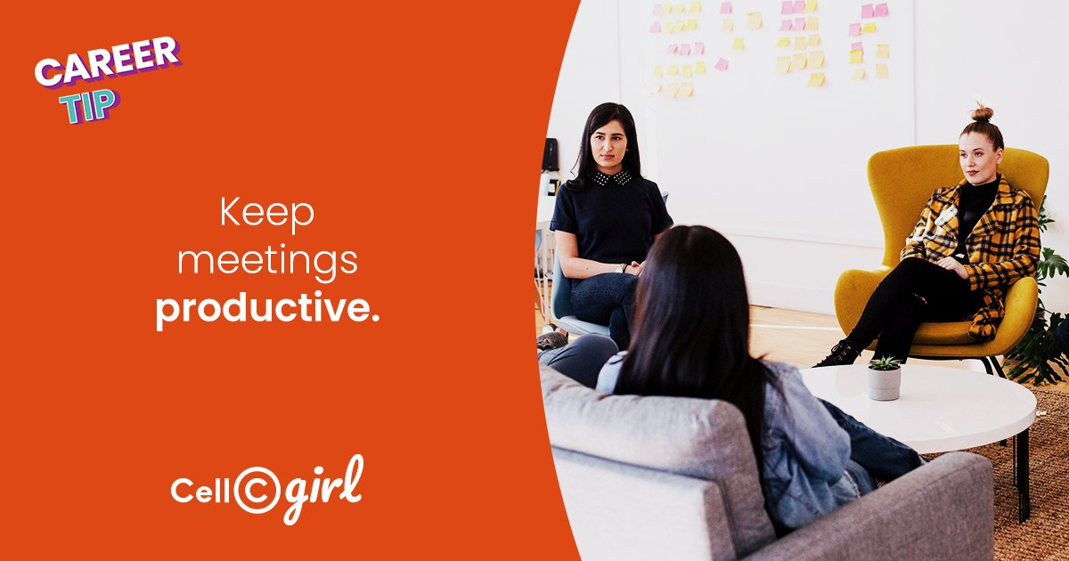 """Keep meetings short, structured and productive to avoid clients and employees grumbling about how """"this could have been an e-mail"""". #CareerTip #CellCgirlpic.twitter.com/NmeQzvL20O"""