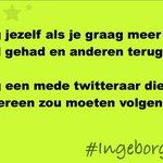 Image for the Tweet beginning: #ingeborgverbindt: Nieuwe mensen leren kennen