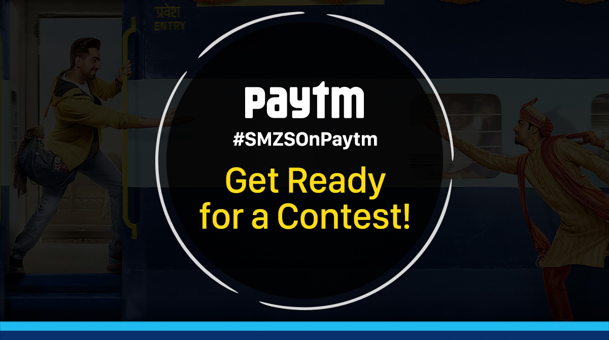 #ContestAlert: RT and follow @PaytmTickets to enter.   Lucky winners stand a chance to meet the stars of #ShubhMangalZyadaSaavdhan! https://m.p-y.tm/smzs   #SMZSOnPaytm