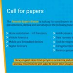 Image for the Tweet beginning: 📢 The #CallforPapers for the