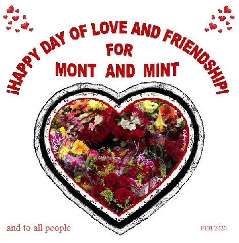 I hope you had a great time the and also the Mints: ¡Feliz día del amor y la amistad!.❤️Anteriorly it was customary to give a card(generally handmade,purchase materials for their elaboration or use what you had at home)this day you show your appreciation and gratitude to friends.