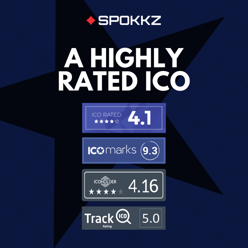 Find out how we rate amongst all tokens here https://icobench.com/ico/spokkz  and start trading in SPKZ: http://ow.ly/GtW750xODhJ  #Blockchain #ICObench #ICOrating #BTC #tokenization  #Ethereum #ONT #MXC #SPOKKZ #ETHpic.twitter.com/zN4JVTJQQ0