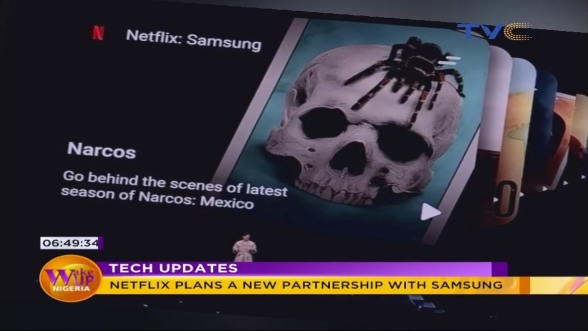 Exciting news for Samsung users! #Netflix #TechUpdates @mikemesikenor #WakeUpNigeriaOnTVCpic.twitter.com/IrBZryBWR1