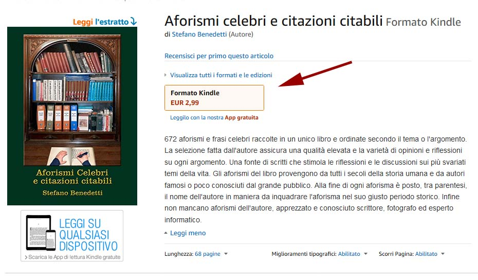 "...  La versione ebook del libro: ""Aforismi celebri e citazioni citabili"" costa solo 2,99 € - Distribuito in tutto il mondo da Amazon   https://www.amazon.it/dp/B0795GFLMM/ref=sr_1_1?s=digital-text&ie=UTF8&qid=1516516286&sr=1-1 …pic.twitter.com/3zDDKh3DUu"