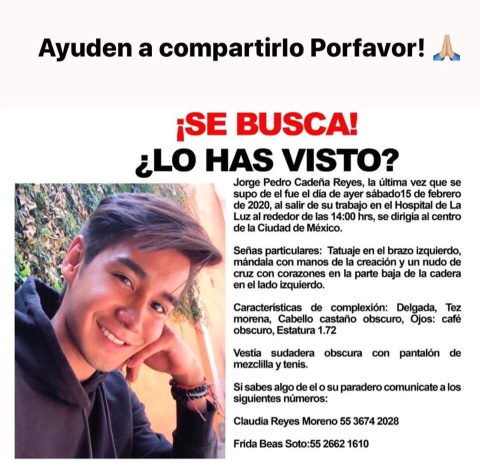 #AlertaAmber ayúdenos a encontrarlo! pic.twitter.com/GgKMKyOCac