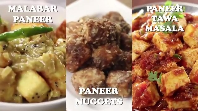 3 easy to make Indian paneer recipes! Watch now and share it with your friends. ✔️ Malabar Paneer ✔️ Paneer Nuggets ✔️ Paneer Tawa Masala  #Paneer #PaneerTawaMasala #PaneerRecipe #VegRecipies #FoodFood