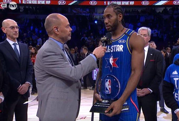 狂轟30+7!Leonard首奪「Kobe Bryant盃」後,這一番話更是動人!(影)