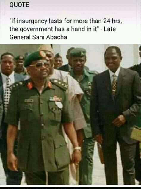 @NekkaSmith According El-rufai in 2015 interview, the Govt and the DSS all knows where the insurgencies are hiding their just playing games with it  Please it is El-rufai that said it oo.  But BABA has said it before El-rufai.
