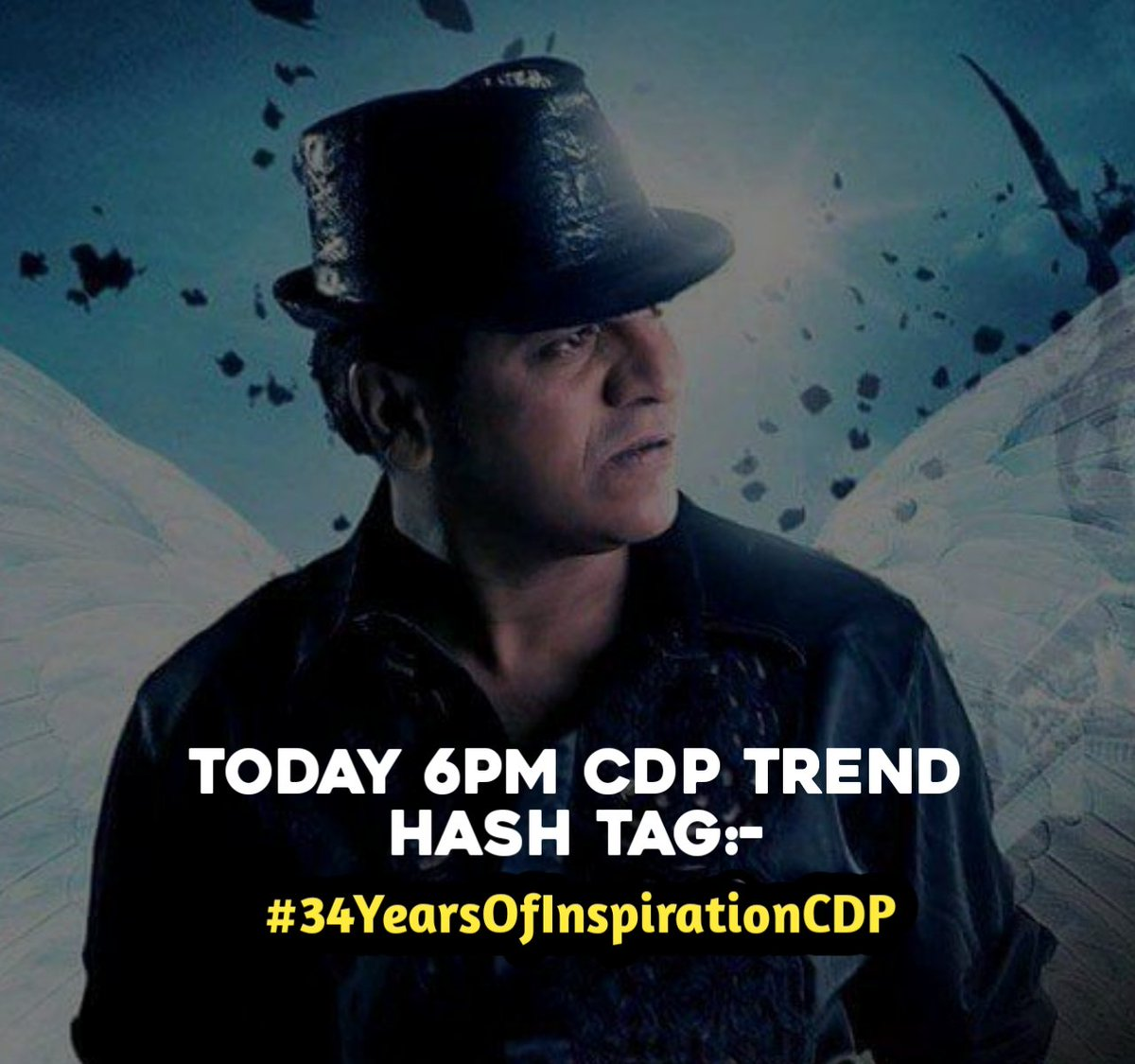 Get Ready Guy's 😎🔥✌️👍 CDP Trending  #BossOfSandalwood @NimmaShivanna Today 6pm trend hash tag👇 #34YearsOfInspirationCDP @ShivaSainya @DrShivuBrigades @RaajavamshaR @youthiconfc @dharwadtm @shivu_adda  @PRK_Trends @PowerStarPunith