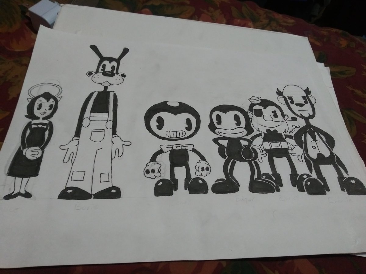 I added ink to an old drawing #BATIM <br>http://pic.twitter.com/jOeCJQxVvi