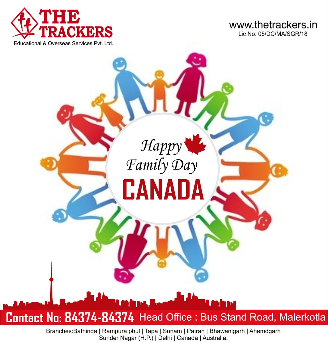 Happy Family Day and Long Weekend To All Canadians!!   84374-84374
