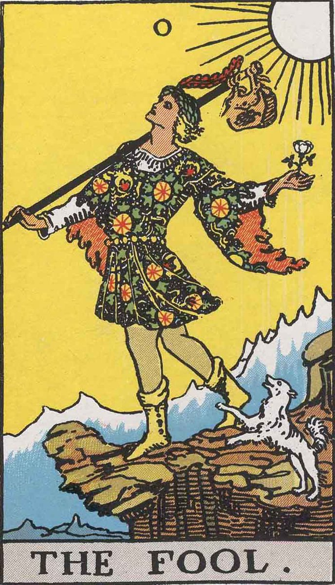 The fool has become trapped by the things she has overlooked, & must now pause & do nothing.  Any movement could unsettle the progress she has made | #tarot #thefool #LifePhilosophy pic.twitter.com/Nhe9Hfi2io