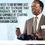 Image for the Tweet beginning: .@investec @CharteredWW @OneYoungWorld #FinBiz2030