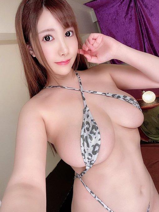 AV女優若月みいなのTwitter自撮りエロ画像38