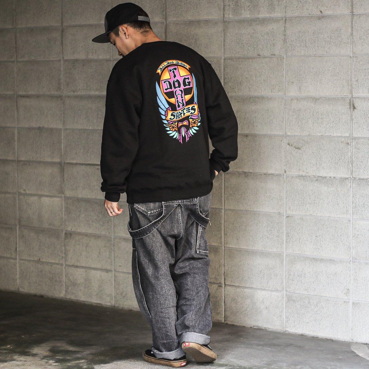【DOGTOWN】BULL DOG CREWNECK SWEAT (BLACK) Lサイズ https://shop.feelin-osaka.com/products/detail.php?product_id=8765… 80'sを彷彿させる鮮やかなリミテッドカラーのクルーネックスウェット。 オールドスケート好きにはたまりませんね! #dogtown #dogtownskates #ドッグタウン #crewneck #sweat #streetwear #streetstyle #streetfashionpic.twitter.com/GZGRFdoPea