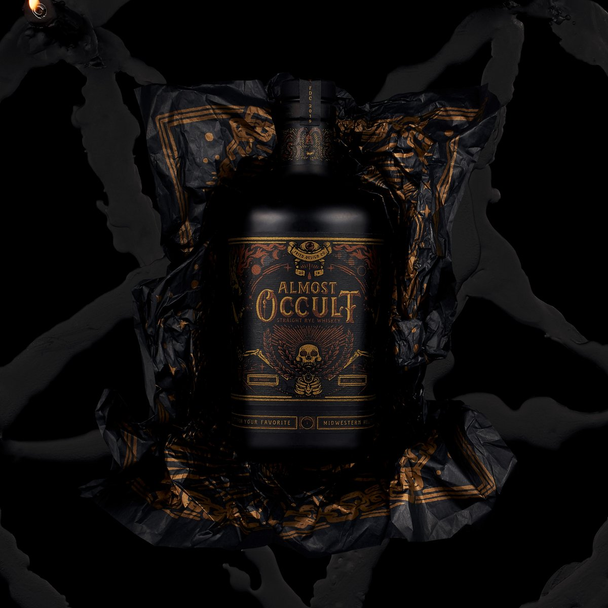 Fried Design Company frieddesignco - Almost Occult Rye Whiskey .  https://worldbranddesign.com/fried-design-company-gets-in-the-spirit-with-almost-occult-rye-whiskey-holiday-gift/ … . #whiskey #spirits #packaging #branddesign #packagingdesign #brandidentity #branding #brand #empaques #logo #design #graphicdesign #typography #illustration #worl…pic.twitter.com/3In29sFBaj