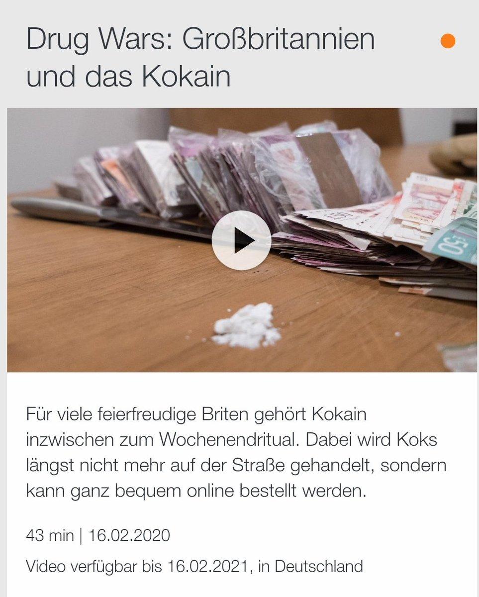 """Gestern bei den ÖR .. Bericht über GB  auf einmal ist es die """"KoksNation? https://www.zdf.de/dokumentation/zdfinfo-doku/drug-wars--grossbritannien-und-das-kokain-100.html…pic.twitter.com/fydt2RkMeL"""